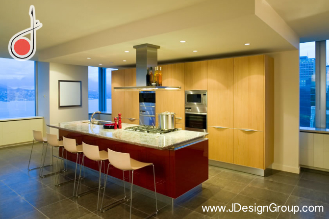 luxury design kitchen