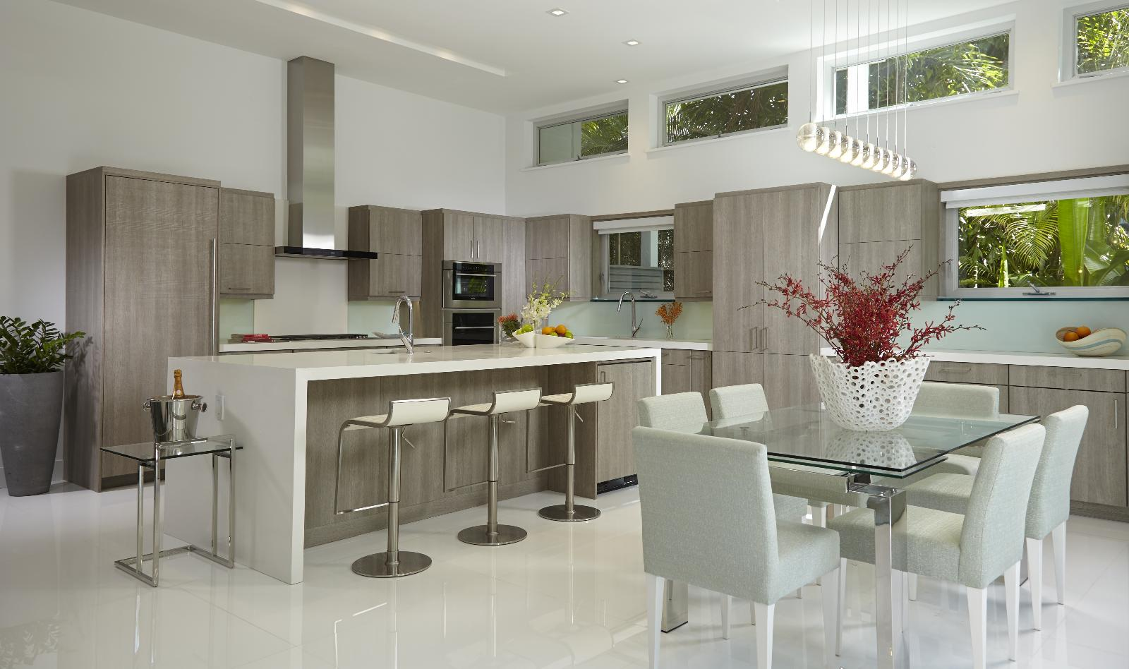 Kitchen interior design services miami florida Baker group kitchen design