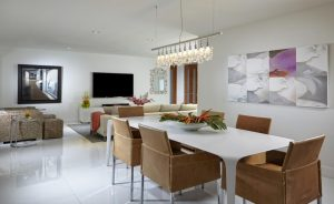 Dining room by Miami interior designer