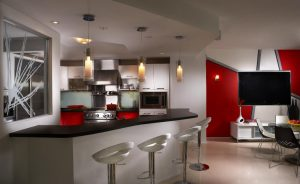 Kitchen by Miami interior designer